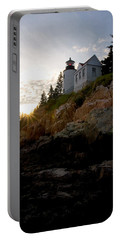 Bass Harbor Lighthouse 1 Portable Battery Charger
