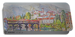 Bassano Del Grappa Portable Battery Charger by P Anthony Visco