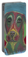 Basset Hound Abstract Portable Battery Charger