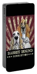 Basset Hound Revolution Portable Battery Charger