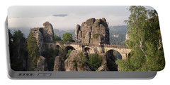 Bastei Bridge In Saxon Switzerland Portable Battery Charger