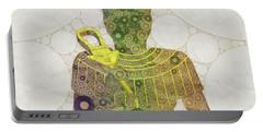 Bastet, Goddess Of Egypt, Pop Art By Mb Portable Battery Charger