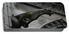 Bat Eared Dog Gargoyle Of Notre Dame Portable Battery Charger