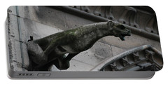 Bat Eared Dog Gargoyle Of Notre Dame Portable Battery Charger