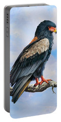 Bateleur Eagle Portable Battery Charger by Anthony Mwangi