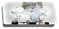 Bath And Wine With Style Portable Battery Charger