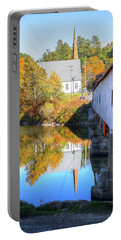 Bath Covered Bridge Portable Battery Charger