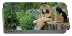 Bathing Beauties Portable Battery Charger