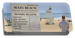 Bathing Bulletin Portable Battery Charger