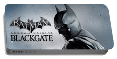 Batman Arkham Origins Blackgate Portable Battery Charger