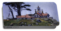 Battery Point Lighthouse Crescent City California Portable Battery Charger
