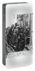 Battle Of Stalingrad  Nazi Infantry Street Fighting 1942 Portable Battery Charger