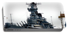Battleship New Jersey Portable Battery Charger