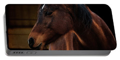 Bay Arabian Mare 2 Portable Battery Charger by Karen Slagle
