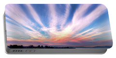 Bay Farm Island Sunrise Portable Battery Charger