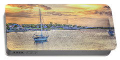 Bayfront Sunset Portable Battery Charger