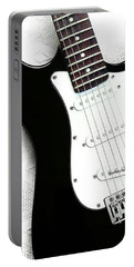Electric Guitar Portable Battery Charger by Sofia Furniel