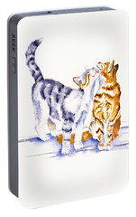 Be Cherished Portable Battery Charger by Debra Hall