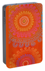 Portable Battery Charger featuring the painting Be Exactly Who You Are by Lisa Weedn