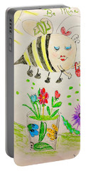 Be Mine Bumblebee Portable Battery Charger