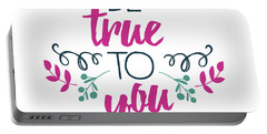 Be True To You Portable Battery Charger