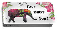 Be Your Best You Art Portable Battery Charger