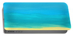 Beach Abstract Portable Battery Charger