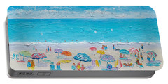 Beach Art - Fun In The Sun Portable Battery Charger