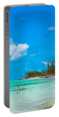 Beach At North Bimini Portable Battery Charger