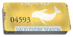Beach Badge Long Beach Island Portable Battery Charger