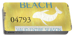Beach Badge Rehoboth Beach Portable Battery Charger