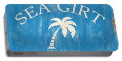 Beach Badge Sea Girt Portable Battery Charger