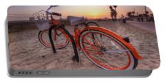 Beach Bike Portable Battery Charger by Yhun Suarez