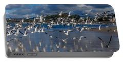 Beach Birds Portable Battery Charger