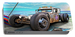Beach Blanket Rat Rod Portable Battery Charger