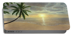 Beach Bliss Portable Battery Charger