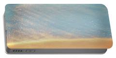 Beach Caress Portable Battery Charger by Glenn Gemmell