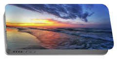 Beach Cove Sunrise Portable Battery Charger