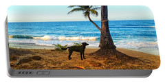 Beach Dog  Portable Battery Charger