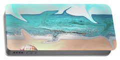 Beach Dream Portable Battery Charger