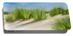 Beach Dune Path Portable Battery Charger