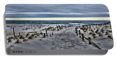 Portable Battery Charger featuring the photograph Beach Entry by Paul Ward