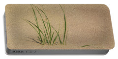 Beach Grass Portable Battery Charger
