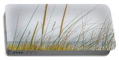 Beach Grass Portable Battery Charger