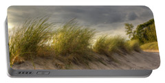 Beach Grasses Portable Battery Charger