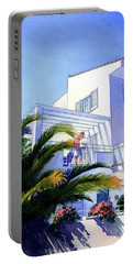 Beach House At Figueres Portable Battery Charger