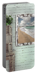 Beach House By Kaye Menner Portable Battery Charger