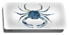 Beach House Sea Life Blue Crab Portable Battery Charger