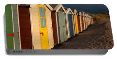 Beach Huts II Portable Battery Charger