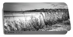 Beach In Ogunquit Portable Battery Charger
